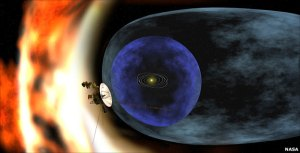 NASA artist rendering of Voyager